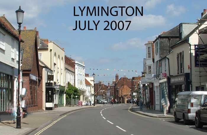 Lymington Hampshire