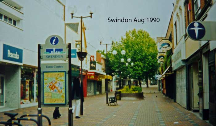 Swindon Wiltshire England Great Britain