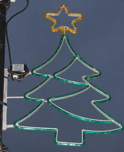BURNHAM CHRISTMAS LIGHTS
