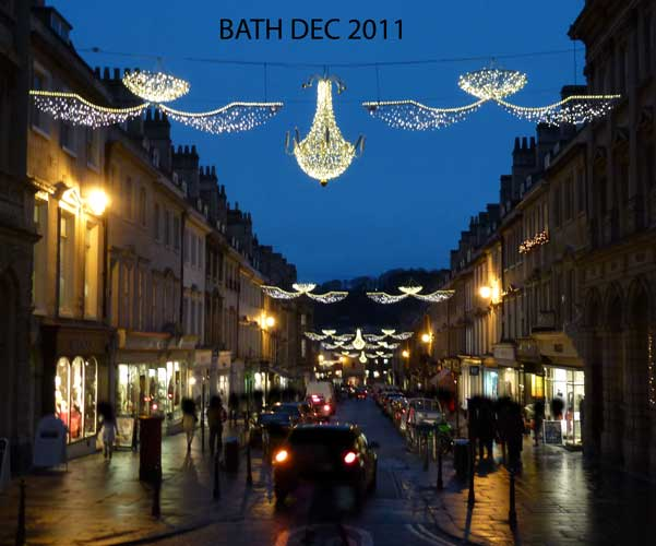 - BATH CHRISTMAS LIGHTS
